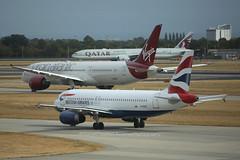 "Airbus, A320-232, G-EUUY, ""British Airways"", EGLL, Heathrow, United Kingdom (Daryl Chapman Photography) Tags: a320232 a320 geuuy ba baw egll heathrow canon 5d mkiii 70200l aviation aviationphotography plane planephotography planespotting 3607"