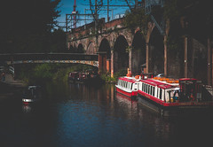 Canalside (Manchester) (Clive Varley) Tags: canals manchester august2018 raw lightroom44