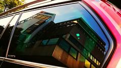 Herma im Seitenfenster des Grand C4 SpaceTourer (eagle1effi) Tags: herma papierbeschichtung aufkleber papier spiegelung reflection bonlanden filderstadt construction site grossbaustelle baustelle eagle1effi picasso grand c4 20 hdi millenium spacetourer gt 150 hp ps