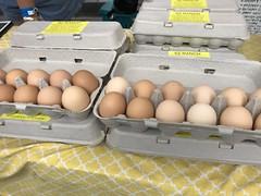 Eggs from SZ Ranch (TomChatt) Tags: food farmersmarket
