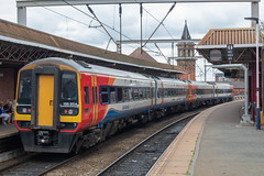 East Midlands Trains 158854 (Mike McNiven) Tags: eastmidlands trains dmu diesel multipleunit manchester deansgate liverpool limestreet nottingham norwich sprinter