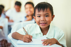 Photo of the Day (Peace Gospel) Tags: portrait child children boys kids cute adorable smiles smiling happy happiness joy joyful peace peaceful hope hopeful thankful grateful gratitude school classroom education students writing learning studying empowerment empowered empower