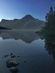 Tidlig Vatnevatn - - Early lake (erlingsi) Tags: vatnevatnet ørsta morgen lake speiling reflection