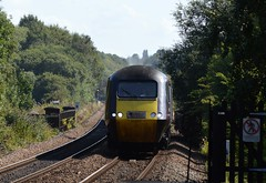 HST 43207 approaches Mexborough with the 1V54 Newcastle to Plymouth, 31st Aug 2018. (Dave Wragg) Tags: 43207 class43 hst xc crosscountry 1v54 mexborough railway