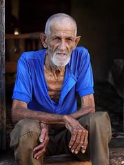 Cuba 2018 (mauriziopeddis) Tags: cuba caribe cayo santa maria caraibi portrait ritratto people reportage canon old man cultural remedios blu