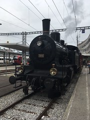 Eb 3/5 5810 (Kevin Biétry) Tags: vincentj vj vu 150ansbulleromont cantondefribourg iphonex trench treno zug train bullefr bulle eb355810 5810 eb35 35 eb