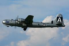 NX529B (Commemorative Air Force) (Steelhead 2010) Tags: commemorativeairforce americanairpowerflyingmuseum boeing b29 fifi nreg nx529b yhm
