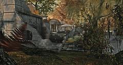 Ember - Fall Ruins (dacioholgado) Tags: fall ruins colors secondlife landscaping decor
