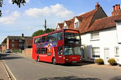 Just in Suffolk (Chris Baines) Tags: chambers scania east lancs bures st mary 754 service colchester sudbury omnidekka