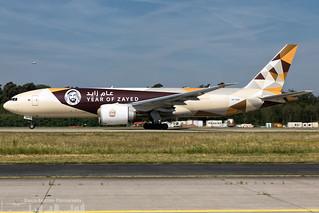 A6-DDE Etihad Airways Boeing 777 / B77F  (FRA - EDDF - Frankfurt)