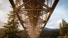 BotG II (Nick Kanta) Tags: bridge bridgeofthegods clouds color d90 nikon oregon outdoorphotography sky sunlight tamron1750 trees
