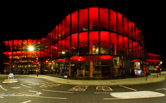 Willis Building - Ipswich (Explored 13/09/2018) (muppet1970) Tags: willis normanfoster grade1listed ipswich glass ruby anniversary 2015 building night architecture