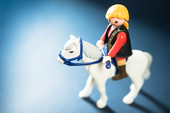 -- (marcoverch) Tags: rider white toys small riding horse playmoblile animal pferd reiten people menschen man mann one ein adult erwachsene competition wettbewerb helmet helm girl mädchen toy spielzeug lid mitglied woman frau child kind snow schnee fun spas portrait porträt winter wear tragen blur verwischen funny komisch gloves handschuhe action aktion macromondays metal avatar leica railroad japan flickr maitreya lego shop