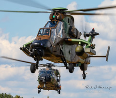 French Army NH90 and Tiger at KB (Paul J Harvey 2 million views cheers) Tags: french army nh90 tiger kb