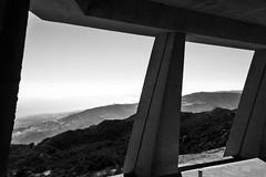 Wright Pillars (fe2cruz) Tags: architecture california ericlloydwright landscape malibu socal wrightranch cellphone clouds iphone mobilephone unitedstates us