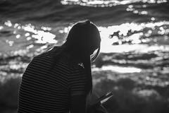 DSC_1658 (Dan_lazar) Tags: charlesclore telaviv israel beach shofar roshhashana jews sea sunset prayer bw bnw blackandwhite orthodox