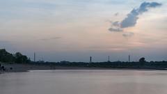 Sonnenuntergang in Monheim II (KL57Foto) Tags: monheim am rhein 2018 fluss germany gewässer kl57foto landschaften nrw natur nordrheinwestfalen omdem1 olympus rhine river september sommer strom sum sonnenuntergang sunsetmer