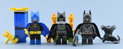 Dc minifigs #13 : Updated Batmen🔨 (Alex THELEGOFAN) Tags: lego legography minifigure minifigures minifig minifigurine minifigs minifigurines movie batman gas mask black yellow blue arkham knight armor heavy gray super heroes dc comics dark