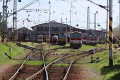Kosice depot - yard (uksean13) Tags: kosice depot train railway canon 760d slovakia zssk 362012 163109 361004 361122 rusnoparada 2018