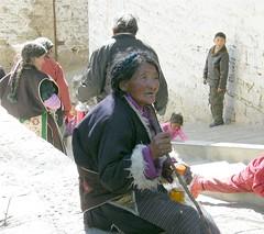 Tibetan Woman (Stanley Zimny (Thank You for 32 Million views)) Tags: tibet travel religion pray woman people china