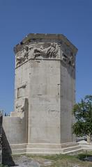 Tower of the Winds (Kyrrhestos' Clock) - Roman Agora - Athens, Greece (Ava Babili) Tags: athens greece antiquity archaeology archeology building architecture romanagora romanforum roman relief wind winds waterclock