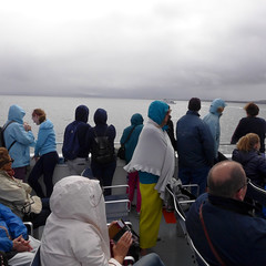 . (Marie Noëlle Taine) Tags: europe ireland inishmore ferry ferryboat people light