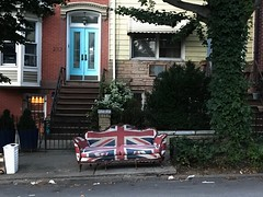 (Julia Manzerova) Tags: brooklyn consumption couch discarded furniture garbage newyorkcity seat settee street tacky trash unionjack waste wasteful