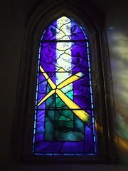 St. Mary's Church, Silchester, Hampshire (Living in Dorset) Tags: stainedglasswindow churchwindow church window stmaryschurch silchester callevaatrebatum hampshire england uk gb churchofstmarythevirgin