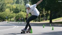 DSC06644-p (Myprofe) Tags: skateboard slalom madrid downhill moncloa westpark skate