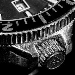 Macro Mondays | Cogwheel (ralf.st) Tags: makro macro cogwheel monochrome sigma105mm blackandwhite monochrom zahnrad watch schwarzweiss macromondays 2018 ralfstamm