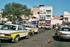 Agadir, Morocco. (ansowest) Tags: street streetphotography nikon analog 35mm film taxi morocco