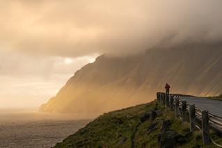 Sunset at Vidareidi - Faroe Islands