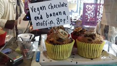 Vegan Muffin (Tony Worrall) Tags: vegan muffin sign signage price buy sell sale bought stock item cost food foodie foodporn foodophile foodpictures foodstuff foodshow bake baked veggie bakeoff cake eat eaten delicious yummy yum grub snack brewandbake taste tasty chow dine picturesoffood preston north northern northwest shop market prestonmarket inside