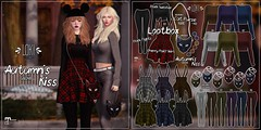 Loki - Autumn's Kiss GACHA @ Lootbox | September '18 (Beautifully Resident) Tags: loki autumn kiss lootbox event sl second life cat skirt tights purse bag