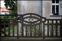 Fence ornament. (Starej Grafik) Tags: x100f fujifilm olomouc fence