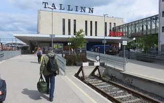 Tallinn Railroad Station (Tallinn, Estonia)