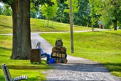 Je déménage !! (Dare2drm) Tags: djfotos déménagement parc moving park