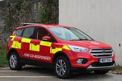 WD17 EOJ (JKEmergencyPics) Tags: dsfrs devon somerset fire rescue service emergency 999 holsworthy station co responder coresponder joint response unit wd17 eoj wd17eoj