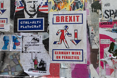 Germany wins on penalties (dlsmith) Tags: pasteups bricklane london brexit
