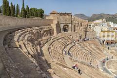 Roman Theater (brentus69) Tags: europe spain cartagena ancient historic theater amphitheater romantheater museum restored