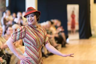 Amateur models at The Festival of Vintage