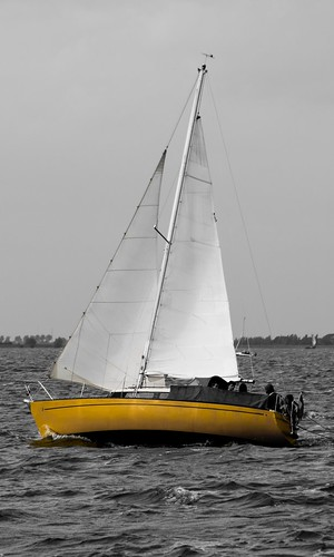 A day on a sail boat