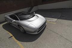 1993 Jaguar XJ220 (Desert-Motors Automotive Photography) Tags: pinnacleportfolio russoandsteele monterey2015 jaguar xj220 twinturbo v6 v6tt
