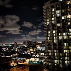 Ft Lauderdale at night (cdsessums) Tags: ftlauderdale florida night skyline nighttime hotel buildings