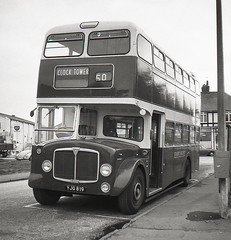 Birchington (Bingley Hall) Tags: transport transportation bus eastkent yjg819 aec regentv parkroyal birchington england kent doubledecker