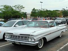 Bel Air (novice09) Tags: backtothefifties carshow chevrolet 1959 impala hardtop whitewalls ipiccy