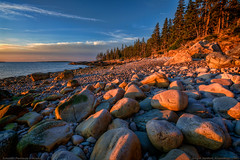 Schoodic Peninsula in Acadia (Greg from Maine) Tags: schoodicpeninsula maine sunrise acadianationalpark acadia shore ocean rockycoast nationalpark boulders