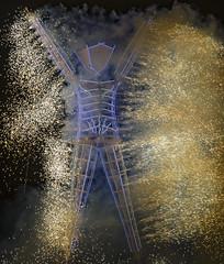 Burning Man 2018 (foxgrrl) Tags: bm18 bm2018 brc blackrockcity burningman burningman2018 theman burning fire fireworks neon nevada theunitedstatesofamerica geo:country=theunitedstatesofamerica exif:focallength=300mm geo:state=nevada exif:isospeed=100 camera:make=nikon geo:city=blackrockcity exif:make=nikon exif:aperture=ƒ56 exif:lens=3000mmf40 camera:model=nikond4s exif:model=nikond4s geo:lat=40785945 geo:lon=119207907 geo:location=theman