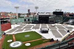 Fenway (Crawford Brian) Tags: fenwaypark baseball mlb boston massachussets pearljam concert seats stage field stadium lights sign citgo greenmonster grass infield