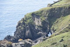 Cave (Worthing Wanderer) Tags: southwestcoastpath cornwall cornwallcoast coast cloudy sunny river path summer august